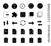 ui ux glyph icons set. system...