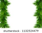 merry christmas and happy new... | Shutterstock .eps vector #1132524479