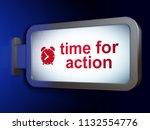 timeline concept  time for... | Shutterstock . vector #1132554776