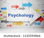 medicine concept   arrow with... | Shutterstock . vector #1132554866