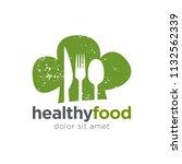 creative restaurant concept... | Shutterstock .eps vector #1132562339