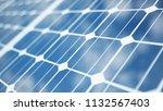 3d illustration solar power... | Shutterstock . vector #1132567403