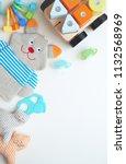 toys... | Shutterstock . vector #1132568969