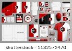 classic corporate identity... | Shutterstock .eps vector #1132572470