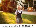 portrait of beautiful... | Shutterstock . vector #1132578410