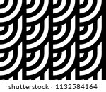 seamless pattern with circles... | Shutterstock .eps vector #1132584164