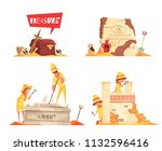 Archeology Design Concept With...