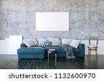 3d render of beautiful clean... | Shutterstock . vector #1132600970