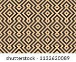seamless black and gold digital ... | Shutterstock .eps vector #1132620089
