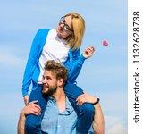 romantic date concept. man... | Shutterstock . vector #1132628738