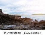 rocky coast at khao laem ya mu...   Shutterstock . vector #1132635584