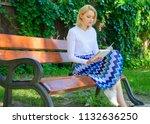 ultimate best book list. woman...   Shutterstock . vector #1132636250