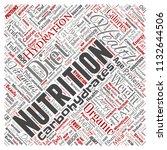 vector conceptual nutrition... | Shutterstock .eps vector #1132644506