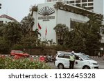 jakarta  indonesia   may 2 2018 ... | Shutterstock . vector #1132645328