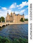 schwerin palace  or schwerin...   Shutterstock . vector #1132651886