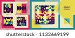cover design template for... | Shutterstock .eps vector #1132669199