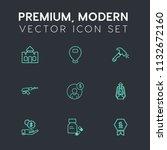 modern  simple vector icon set...   Shutterstock .eps vector #1132672160