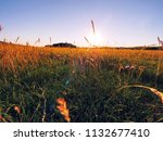 sunset of donegal countryside...   Shutterstock . vector #1132677410