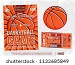 modern professional sports... | Shutterstock .eps vector #1132685849