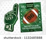 modern professional sports... | Shutterstock .eps vector #1132685888