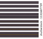 set of seamless horizontal...   Shutterstock .eps vector #1132687739