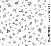 seamless shopping cart pattern...