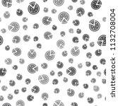 seamless pizza pattern on a...