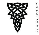 tattoo celtic national ornament ...   Shutterstock .eps vector #1132713620