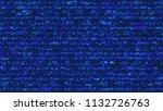unique design abstract digital...   Shutterstock . vector #1132726763