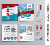 business brochure template... | Shutterstock .eps vector #1132740863