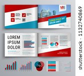 business brochure template... | Shutterstock .eps vector #1132740869