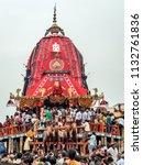 puri  orissa  india   august 9  ... | Shutterstock . vector #1132761836