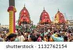 puri  orissa  india   august 9  ... | Shutterstock . vector #1132762154