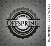 offspring black emblem. vintage.   Shutterstock .eps vector #1132767629