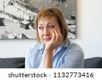 loss of a loved one. sadly... | Shutterstock . vector #1132773416