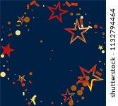 round frame or border christmas ... | Shutterstock .eps vector #1132794464