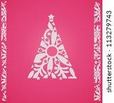 christmas winter background   Shutterstock . vector #113279743