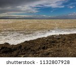 cheerful tide of the sea... | Shutterstock . vector #1132807928