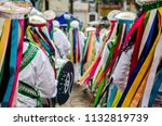 s o paulo  penha  brazil. afro... | Shutterstock . vector #1132819739