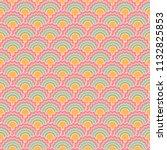 creative mermaid scales squama... | Shutterstock .eps vector #1132825853