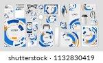 vector set kit collection... | Shutterstock .eps vector #1132830419