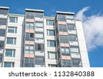 modern giant  apartment... | Shutterstock . vector #1132840388