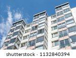 modern giant  apartment... | Shutterstock . vector #1132840394