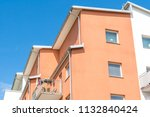 modern luxury apartment... | Shutterstock . vector #1132840424