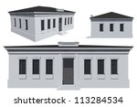3d architectural model of the... | Shutterstock . vector #113284534