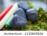 beautiful  charming purple... | Shutterstock . vector #1132845836