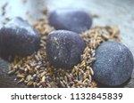 beautiful  charming purple... | Shutterstock . vector #1132845839