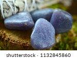 beautiful  charming purple... | Shutterstock . vector #1132845860