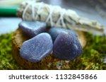 beautiful  charming purple... | Shutterstock . vector #1132845866