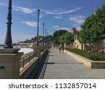 embankment of the zolotoy bereg ...   Shutterstock . vector #1132857014